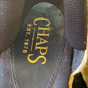 Chaps Shoes - Chaps Navy Wedges